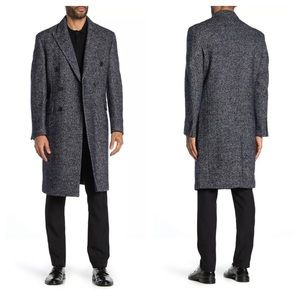 Calvin Klein Monarch Double breasted Wool Coat
